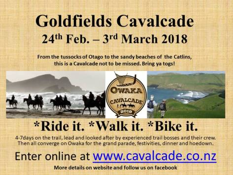 Goldfields Cavalcade