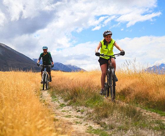 mountain biking twizel